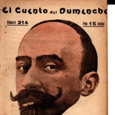 Libros antiguos: JACINTO BENAVENTE : SENSE VOLER (CUENTO DEL DUMENCHE, VALENCIA, 1918). Lote 277624903
