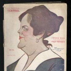 Libros antiguos: GUIMERA, ANGEL: TIERRA BAJA. MADRID, LA NOVELA TEATRAL Nº114 1919. Lote 112439659