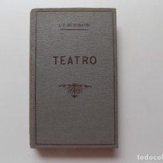 Libros antiguos: LIBRERIA GHOTICA. MORATIN. TEATRO. 1936. CIEN MEJORES OBRAS DE LA LITERATURA ESPAÑOLA.. Lote 277830628