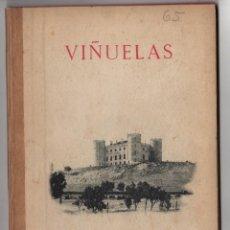 Libros antiguos: RECUERDO DE VIÑUELAS. GUADALAJARA. 1899. Lote 278323173