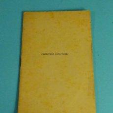 Libros antiguos: ORATORIA MONESIPAL. MONÓLOGO IRREPRESENTABLE. JOSÉ NAVARRO CABANES. Lote 278933293