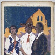 Libros antiguos: SASSONE, FELIPE. HIDALGO HERMANOS Y COMPAÑÍA. S.A. (HACIA 1925).. Lote 278972138