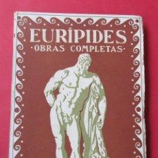 Libros antiguos: OBRAS COMPLETAS. EURÍPIDES. TOMO III. PROMETEO CIRCA 1930. 215 PÁGINAS.. Lote 279355883