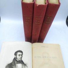 Libros antiguos: DON MANUEL BRETÓN DE LOS HERREROS OBRAS 1883 -1884. Lote 280108573