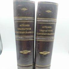 Libros antiguos: AUTORES DRAMÁTICOS CONTEMPORÁNEOS Y JOYAS DEL TEATRO ESPAÑOL DEL SIGLO XIX. 1881. Lote 280110648