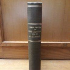 Libros antiguos: TRES COMEDIAS CON UN SOLO ENSAYO. JARDIEL PONCELA. BIBLIOTECA NUEVA. 1934. ENCUADERNADO. Lote 280694638