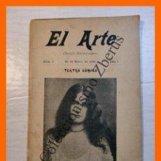 Libros antiguos: EL ARTE. REVISTA HEBDOMADARIA. Nº 4 - AÑO I - 29 ENERO 1899. Lote 294956493