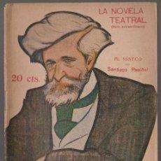 Libros antiguos: EL MÍSTICO - SANTIAGO RUSIÑOL - LA NOVELA TEATRAL - Nº 3 DICIEMBRE 1916. Lote 294992758