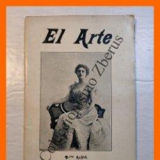 Libros antiguos: EL ARTE. REVISTA HEBDOMADARIA. Nº 33 - AÑO I - 19 AGOSTO 1899. Lote 295491683