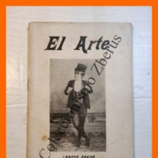 Libros antiguos: EL ARTE. REVISTA HEBDOMADARIA. Nº 44 - AÑO I - 4 NOVIEMBRE 1899. Lote 295491858