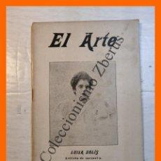 Libros antiguos: EL ARTE. REVISTA HEBDOMADARIA. Nº 45 - AÑO I - 11 NOVIEMBRE 1899. Lote 295492053