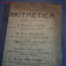 Libros antiguos: ARITMETICA-LIBRO ESCOLAR. Lote 15878500