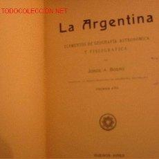 Libros antiguos: LIBRO ESCOLAR ELEMENTOS GEOGRAFIA ASTRONOMICA, AÑO 1910. Lote 19887881