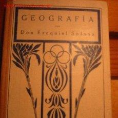 Libros antiguos: LIBRO ESCOLAR NOCIONES DE GEOGRAFIA-AÑO 1928. Lote 21360665