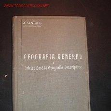 Libros antiguos: LIBRO DE TEXTO-GEOGRAFIA GENERAL E INICIACION A LA GEOGRAFIA DESCRIPTIVA ,1922. Lote 7462677