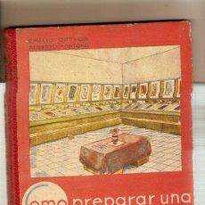 Libros antiguos: COMO PREPARAR UNA EXPOSICION ESCOLAR DE FIN DE CURSO / E. ORTIGA, A. MONTANA. . Lote 27629676