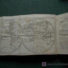 Libros antiguos: LIBRO DE GEOGRAFIA PARA NIÑOS CON TRES GRABADOS DESPLEGABLES. Lote 26562904