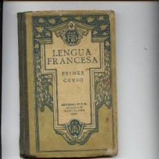 Libros antiguos: LENGUA FRANCESA. Lote 15771093