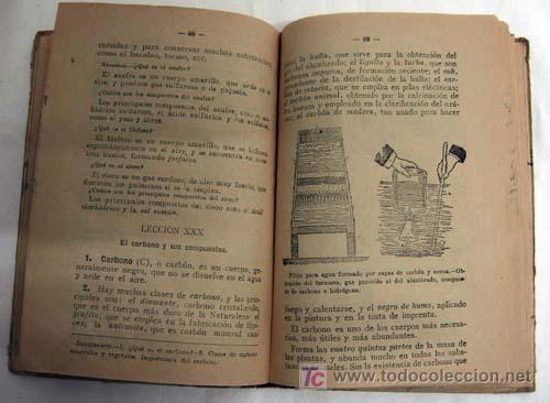 Libros antiguos: Nociones de Física Química e Historia Natural Ascarza Magisterio Español años 20 - Foto 3 - 5999081