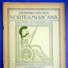Libros antiguos: ESCRITURA PRÁCTICA NORTEAMERICANA. CUADERNO Nº 3. SEIX BARRAL HERMS, EDITORES. BARCELONA, SIN FECHA.. Lote 13895387