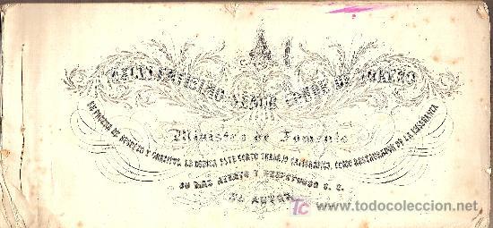 Libros antiguos: Para uso de las escuelas Letra inglesa, española y adorno / E. Bover.BCN : Tip.Lit. Verdaguer, C1860 - Foto 2 - 35242639