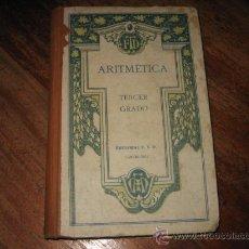 Libros antiguos: ARITMETICA TERCER GRADO . Lote 7974910