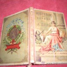 Libros antiguos: COMPENDIO DE HISTORIA DE ESPAÑA. Lote 9273435