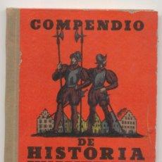 Libros antiguos: COMPENDIO DE HISTORIA UNIVERSAL LIBRO SEGUNDO -AÑO 1934-. Lote 27592287