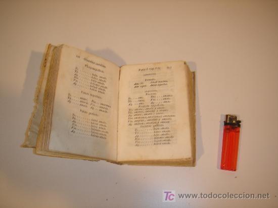 Libros antiguos: gramatica castellana 1812 tapas de pergamino tapa de portada falta la parte del pergamino - Foto 2 - 17646998