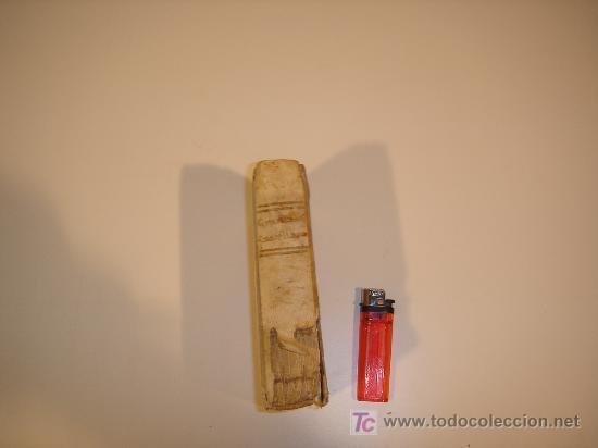 GRAMATICA CASTELLANA 1812 TAPAS DE PERGAMINO TAPA DE PORTADA FALTA LA PARTE DEL PERGAMINO (Libros Antiguos, Raros y Curiosos - Libros de Texto y Escuela)