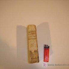 Libros antiguos: GRAMATICA CASTELLANA 1812 TAPAS DE PERGAMINO TAPA DE PORTADA FALTA LA PARTE DEL PERGAMINO. Lote 17646998