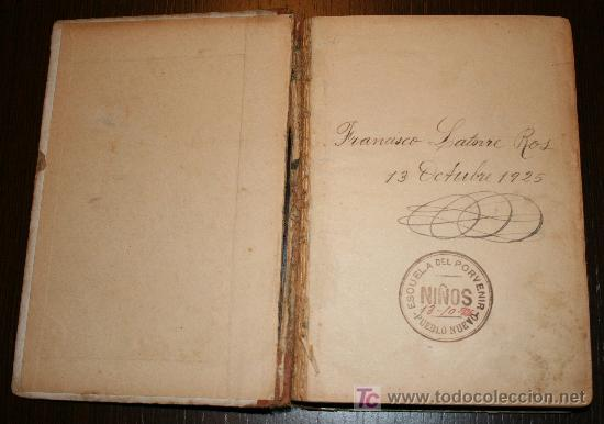 Libros antiguos: EL AMIGO - MÉTODO COMPLETO DE LECTURA PARA NIÑOS Y NIÑAS - JUAN PAZZI 1923 - Foto 2 - 20519972