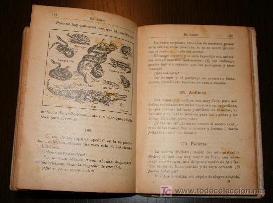 Libros antiguos: EL AMIGO - MÉTODO COMPLETO DE LECTURA PARA NIÑOS Y NIÑAS - JUAN PAZZI 1923 - Foto 4 - 20519972