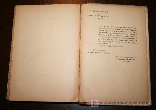 Libros antiguos: EL AMIGO - MÉTODO COMPLETO DE LECTURA PARA NIÑOS Y NIÑAS - JUAN PAZZI 1923 - Foto 5 - 20519972