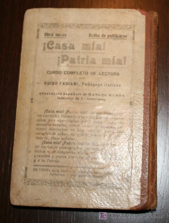 Libros antiguos: EL AMIGO - MÉTODO COMPLETO DE LECTURA PARA NIÑOS Y NIÑAS - JUAN PAZZI 1923 - Foto 7 - 20519972