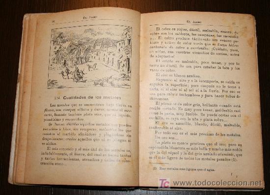 Libros antiguos: EL AMIGO - MÉTODO COMPLETO DE LECTURA PARA NIÑOS Y NIÑAS - JUAN PAZZI 1923 - Foto 6 - 20519972