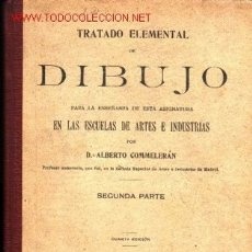 Libros antiguos: TRATADO ELEMENTAL DE DIBUJO PARA LA ENSEÑANZA DE ESTA ASIGNATURA EN LAS ESCUELAS DE ARTES E INDUSTR. Lote 23600466