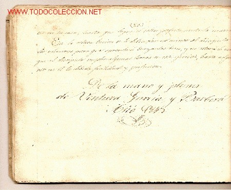 Libros antiguos: Copia [manuscrita] del Curso de Caligrafía o Nuevo método de aprender a escribir por el Sr. Bernadet - Foto 3 - 27160124