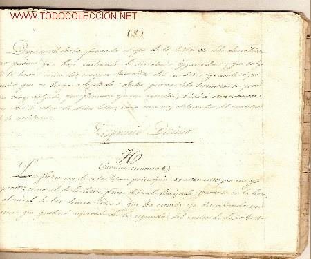 Libros antiguos: Copia [manuscrita] del Curso de Caligrafía o Nuevo método de aprender a escribir por el Sr. Bernadet - Foto 4 - 27160124