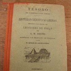 Libros antiguos: TESOROS DE CONOCIMIENTOS UTILES, LECTURAS CIENTIFICAS AMENAS, DISPUESTAS PARA SERVIR COMO LECCIONES. Lote 26137199