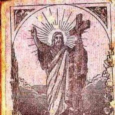 Libros antiguos: LIBRO DE TEXTO CATECISMO DE LA DOCTRINA CRISTIANA BILINGÚE AÑO 1882. Lote 11066963