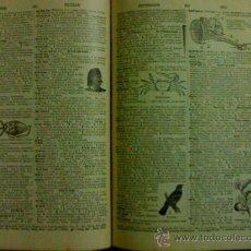 Libros antiguos: DICCIONARIO ENCICLOPEDICO EN INGLES 1925 MADE IN USA . Lote 26428708