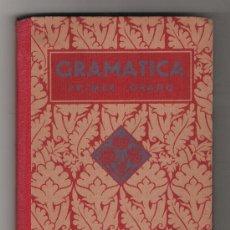 Libros antiguos: GRAMÁTICA PRIMER GRADO. EDIT. LUIS VIVES 1935. Lote 22344419