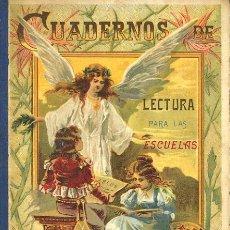 """Libros antiguos: LIBRO DE ESCUELA """"CUADERNO DE LECTURA PARA LAS ESCUELAS"""" SUCESORES DE HERNANDO –MADRID-. Lote 13686467"""