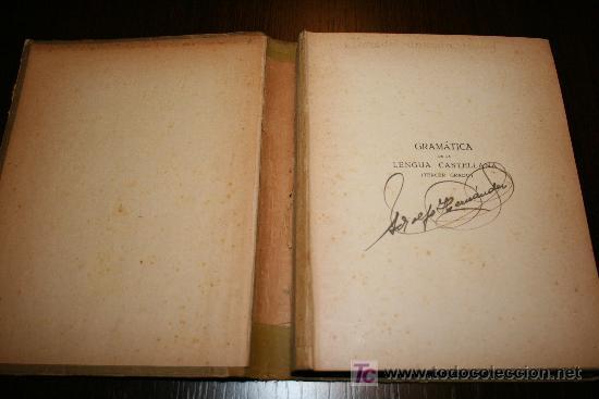 Libros antiguos: GRAMÁTICA CASTELLANA (TERCER GRADO) - MANUEL DE MONTOLIU - L.G SEIX & BARRAL EDITORES 1928 - Foto 2 - 26336526