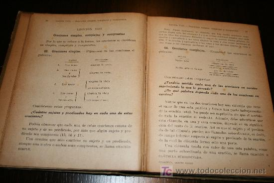 Libros antiguos: GRAMÁTICA CASTELLANA (TERCER GRADO) - MANUEL DE MONTOLIU - L.G SEIX & BARRAL EDITORES 1928 - Foto 4 - 26336526