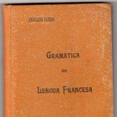 Libros antiguos: GRAMATICA DE LENGUA FRANCESA POR PEDRO FABREGAS. SEGUNDO CURSO. 2ª EDICION. MADRID 1930. Lote 14088977