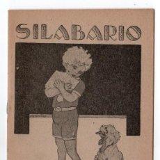 Libros antiguos: SILABARIO LIBRERIA ESCOLAR. HIJOS DE A. PEREZ. MADRID. Lote 14184265