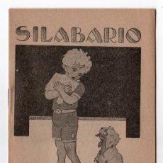 Libros antiguos: SILABARIO LIBRERIA ESCOLAR. HIJOS DE A. PEREZ. MADRID. Lote 14184331