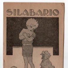 Libros antiguos: SILABARIO LIBRERIA ESCOLAR. HIJOS DE A. PEREZ. MADRID. Lote 14184353